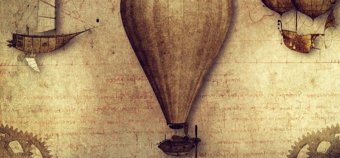 First -hot-air balloon -flight