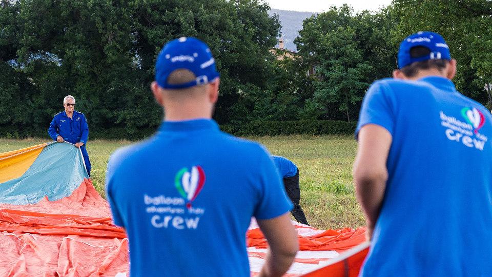 La Crew (l'equipaggio) Balloon Adventures Italy